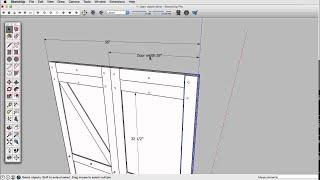 SketchUp Skill Builder: Dimensions