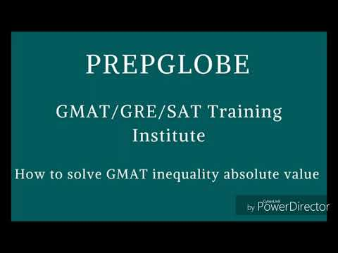 GMAT Quantitative Section.