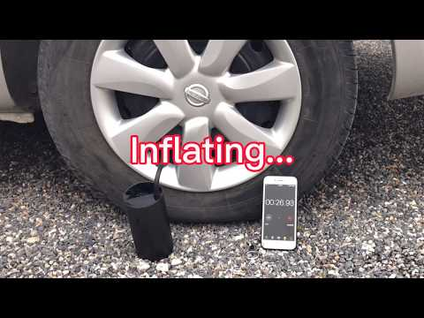 MOJIETU Lightning-A Smart & Portable Tire Inflator-GadgetAny