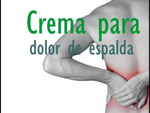 Crema para dolor de espalda
