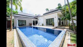 Quality Nai Harn Bali Style Three Bedroom Pool Villa for Rent