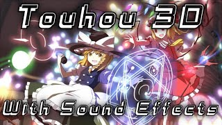 Touhou 3D Flandre VS Marisa (With Sound Effects)