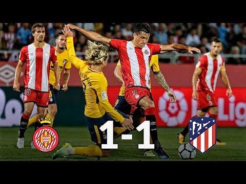 Girona vs Atletico Madrid 1-1 09/01/19 ● Match Statistic