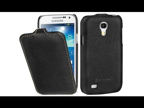 Handyhülle für Samsung Galaxy S4 mini aus Leder von StilGut