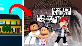 Our Bloxburg House Is Haunted Roblox Free Online Games