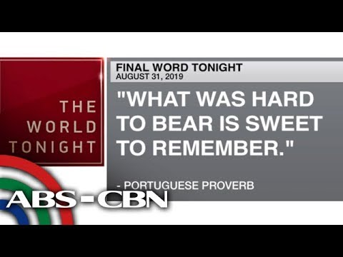 [ABS-CBN]  Final Word – August 31, 2019 | ANC