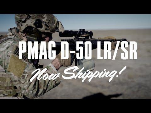 Magpul product release: Magpul PMAG D-50 LR/SR GEN M3