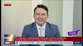 Awaryjne wyciszanie Mentzena w TVP Info…
