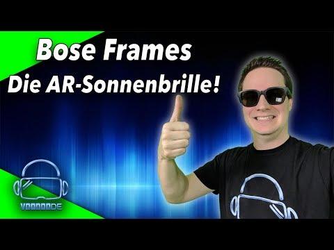 Bose Frames - Ist die AR Sonnenbrille 199$ wert? Unboxing und Test!