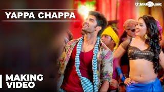 Yappa Chappa Song Making Video | Kanithan | Atharvaa | Catherine Tresa | Anirudh | Drums Sivamani