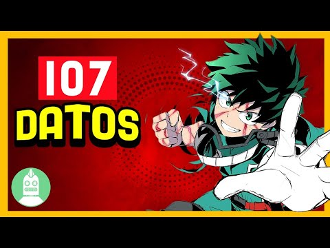 107 datos de 'My Hero Academia' que DEBES saber (Atómico #204) en Átomo Network