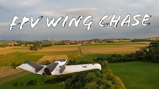 FPV Drone Wing chase