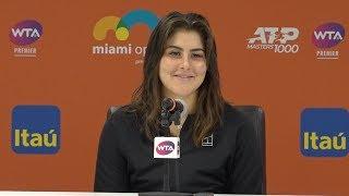 Bianca Andreescu Press Conference   2019 Miami Open Second Round