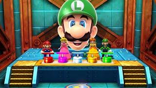 Mario Party The Top 100 MiniGames - Mario Vs Peach Vs Daisy Vs Luigi (Master Cpu)