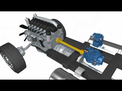 AddiDrive : hydraulic assistance for trailers truck by Poclain Hydraulics