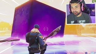 The Fortnite CUBE Just Melted into Loot Lake..