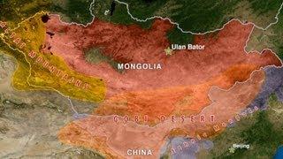 Mongolia - Geography