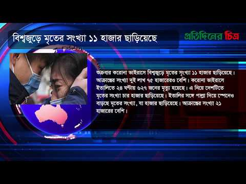 News Flash | Saturday, March 21, 2020 | নিউজ ফ্ল্যাশ | Daily Protidiner Chitro