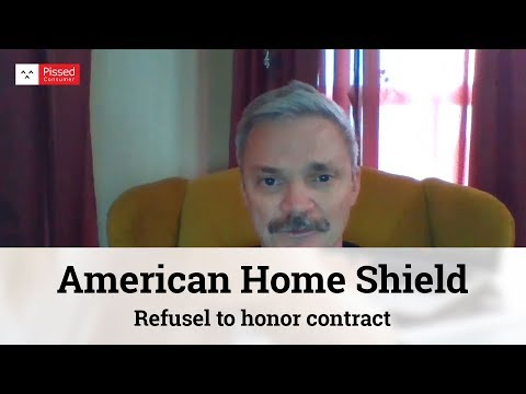 American Home Shield - Refusel to honor contract
