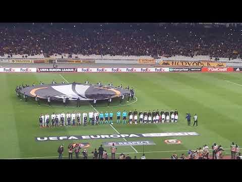 AEK Athens - AC Milan (ENTRANCE)