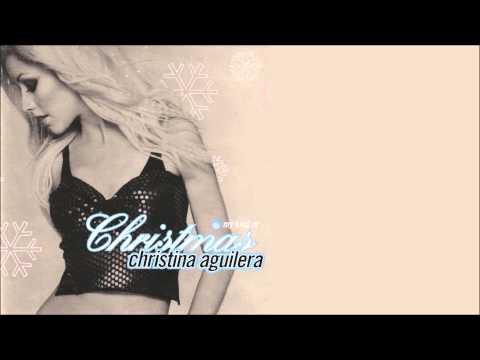 Christina Aguilera - Angels We Have Heard On High + Lyrics