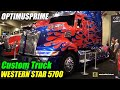 2015 Western Star 5700 OP Optimusprime Transformers Truck - Walkaround - 2015 Expocam Montreal