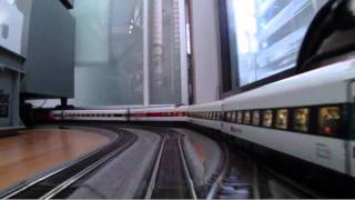 preview picture of video 'H0 Scale: ICN double contraction  -- Beautiful swiss train designed by Pininfarina'