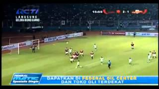 AC MILAN GLORIE 4-2  INDONESIA ALL STAR LEGEND ( Hasby al-Albani )