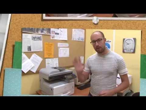 Tutorial para usar la impresora de Onda Color (Ricoh Aficio MP301)