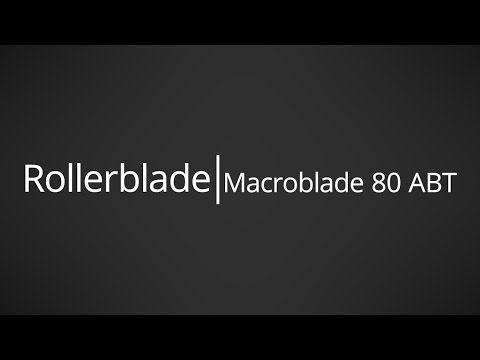 Video: 2017 Rollerblade Macroblade 80 ABT Mens and Womens Inline Skate Overview by InlineSkatesDotCom
