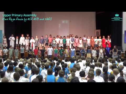 Upper Primary Assembly: Hari Raya Puasa by 4CP, 4EB and 3/4PS