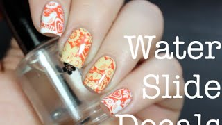 How To Use Water Slide Decals!!