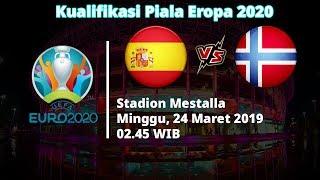 Live Streaming Kualifikasi Piala Eropa 2020, Spanyol Vs Norwegia, Minggu 02.45 WIB