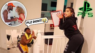 Best Friend SMASHED MY PS5 for KISSING Miss Thotiana! *SHE GOT JEALOUS*