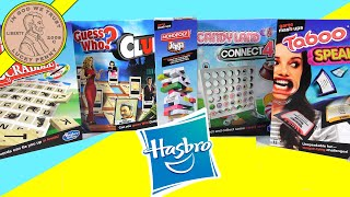 Parents Guide To Hasbro's Mash Ups Games!  Monopoly Jenga, Scrabble, Connect 4