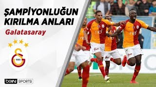 Galatasaray'ın 22. Şampiyonluğunun Kırılma Anları