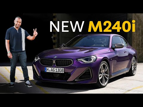 NEW BMW M240i First Look  - 369hp Baby M2