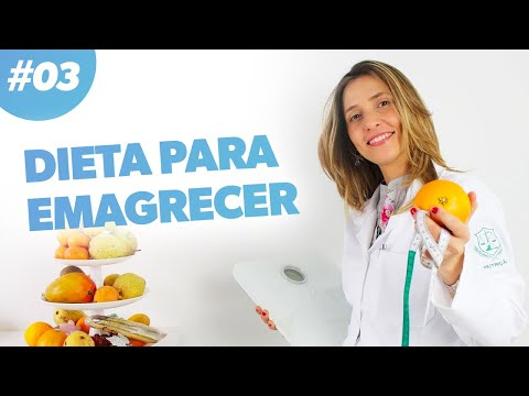 Imagem ilustrativa do vídeo: Dieta para emagrecer - como reduzir calorias | #03
