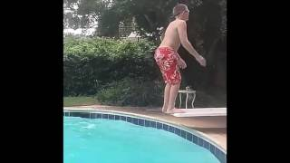 Insane Pool Backflip