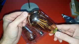 Eine schicke Retro Glühbirne für Zuhause? Edison Vintage Glühlampe E27 400LM 2700K