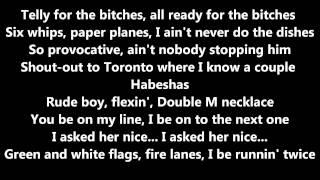 Freaks (Remix) French Montana ft Dj Khaled, Rick Ross, Mavado, Wale, & Nicki Minaj (Lyrics)