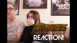 Marvel Avenger Infinity War Trailer Reaction