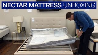 Unboxing the New Nectar Mattress 2018