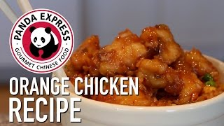 How To: Make Orange Chicken and Sticky Rice Panda Express Style