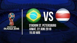 Jadwal Live Trans TV Pertandingan Piala Dunia 2018: Brasil Vs Kosta Rika Pukul 19.00 WIB