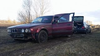 Starting 1993 BMW E34 520i After 5 Years (1080p)