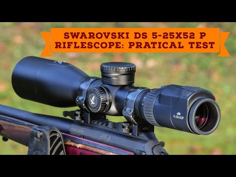 Test and video: Smart Swarovski dS 5-25×52 P hunting riflescope