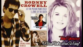 Rodney Crowell & Trisha Yearwood – I Don't Fall in Love So Easy (Audio)