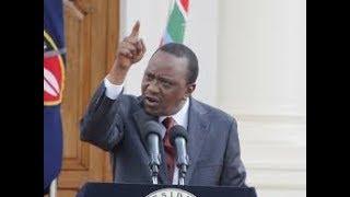 Stop this talk on secession, warns Uhuru