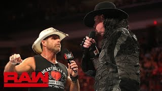 The Phenom rises in response to Shawn Michaels' belief that Triple H will defeat The Deadman at WWE Super Show-Down.  #RAW #SuperShowDown  GET YOUR 1st MONTH of WWE NETWORK for FREE: http://wwenetwork.com --------------------------------------------------------------------- Follow WWE on YouTube for more exciting action! --------------------------------------------------------------------- Subscribe to WWE on YouTube: http://bit.ly/1i64OdT Check out WWE.com for news and updates: http://goo.gl/akf0J4 Find the latest Superstar gear at WWEShop: http://shop.wwe.com --------------------------------------------- Check out our other channels! --------------------------------------------- The Bella Twins: https://www.youtube.com/thebellatwins UpUpDownDown: https://www.youtube.com/upupdowndown WWEMusic: https://www.youtube.com/wwemusic Total Divas: https://www.youtube.com/wwetotaldivas ------------------------------------ WWE on Social Media ------------------------------------ Twitter: https://twitter.com/wwe Facebook: https://www.facebook.com/wwe Instagram: https://www.instagram.com/wwe/ Reddit: https://www.reddit.com/user/RealWWE Giphy: https://giphy.com/wwe